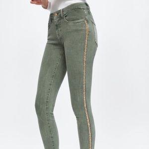 Zara Side Sparkle Jeans